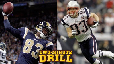 Brandon Lloyd, Wes Welker Only Safe Receivers for Patriots and 19 Other Thoughts