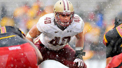 Luke Kuechly Leans on Mark Herzlich for Advice While Preparing for NFL Draft