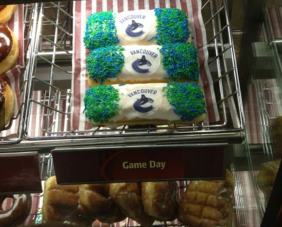 Canucks Pastries, Like the Team, Are 'Cheap, Flakey and Have Many Holes' (Caption Contest)