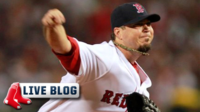 Red Sox Live Blog: Josh Beckett Struggles As Sox Fall to Indians 8-3