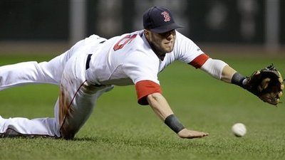 Dustin Pedroia Exits Game Against Tigers With Jammed Right Thumb