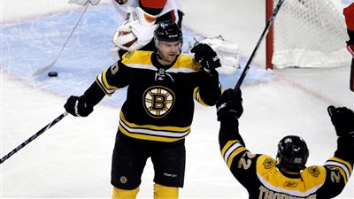 Bruins Sign Daniel Paille to a Three-Year Contract