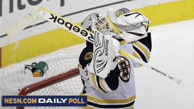 Vote: Has Tim Thomas Played His Last Game As a Boston Bruin?