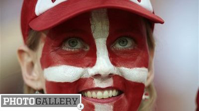 Denmark Departs Euro 2012 Early, but Pretty Fans and Strong Performances Leave Lasting Impression (Photos)
