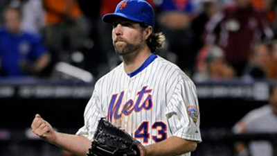 R.A. Dickey Continues to Defy Odds as Dominant Run Not Showing Any Signs of Slowing Down