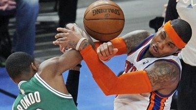 Carmelo Anthony, Rajon Rondo