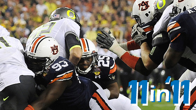 Auburn's BCS Win Over Oregon, Cardinals' Stunning World Series Comeback Among Best Non-Boston Games of 2011
