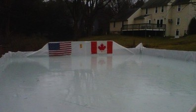 Frozen Fenway Dealing With Wacky Weather That Is Making Life Difficult for Backyard Rink Builders