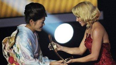 Homare Sawa Wins 2011 FIFA Women's World Player of the Year Award