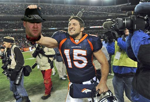 NESN.com Photochop: Why Is Tim Tebow So Fired Up?