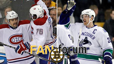 Are Canucks Bigger Rivals for Bruins Than Canadiens This Season?