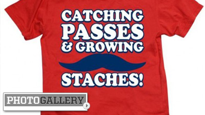 Wes Welker's Playoff Mustache Inspires Twitter Followers to Join the Madness for Playoffs (Photos)