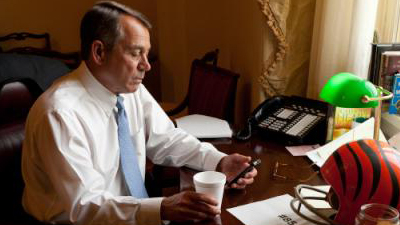 Chad Ochocinco Becomes Twitter Pals With Speaker of the House John Boehner After State of the Union