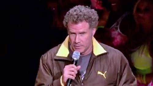 Will Ferrell Announces Bulls, Hornets Starting Lineups, Tells Crowd Carlos Boozer 'Still Lives With His Mother' (Video)