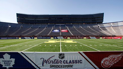 Big House Is Perfect Setting for Winter Classic, But Casting of Red Wings, Maple Leafs Lacks Some Entertainment Value