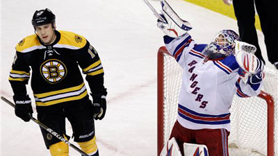Bruins Struggling With Identity Crisis As Rangers Use B's Own Style to Extend Lead in East