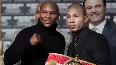 Floyd Mayweather Jr.'s Focus Seems to Be on Manny Pacquiao, Not on Upcoming Fight With Miguel Cotto