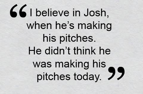 Bobby Valentine Still Believes in Josh Beckett After Rough Start to Season