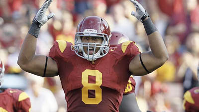 Patriots Could Make Nick Perry Their First Opening-Round Pick From USC Since Willie McGinest
