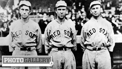 Tris Speaker Highlights Red Sox Lineup During First Game at Fenway Park 100 Years Ago (Photos)