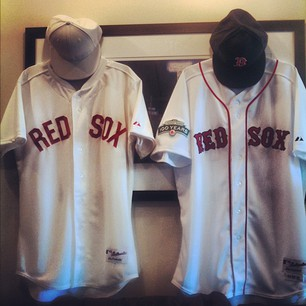 NESN's Jenny Dell Shows Off 1912 Red Sox Throwback Jersey During 100-Year Anniversary Game (Photos)