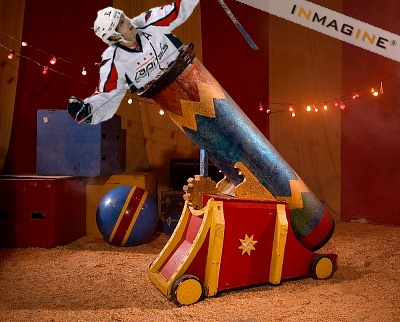 Photochop Winners: Nicklas Backstrom Happy Playing With Legos, Joining the Circus (Photos)
