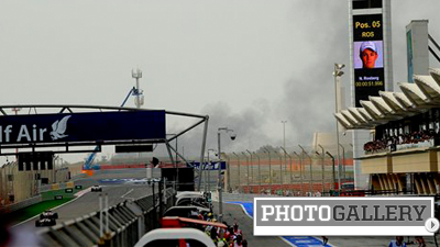 Formula One Grand Prix Race in Bahrain Overshadowed by Violent Protests (Photos)