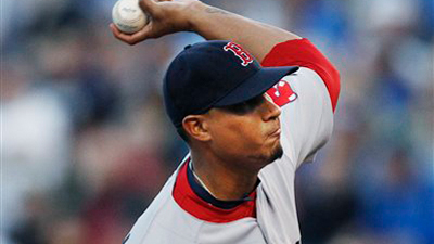 Felix Doubront Rides Pair of Wins to Amica Pitcher of the Week Honors