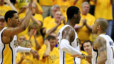 Pacers Exposing Heat's Weakness in Post With Roy Hibbert, David West Dominating Paint