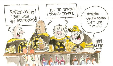 Boston, Philadelphia Set to Face Off Once Again in a Battle for Sports Supremacy