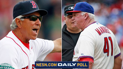 Vote: Does Bobby Valentine or Charlie Manuel Face a Tougher Challenge as Manager This Season?