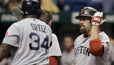 Kevin Youkilis Playing First Base in Return, Adrian Gonzalez in Right Field As Red Sox Take On Orioles