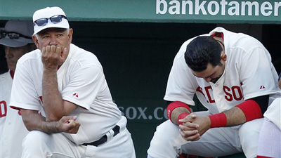 Bobby Valentine Makes Right, But Risky Call in Possibly Playing Adrian Gonzalez in Fenway's Tricky Outfield