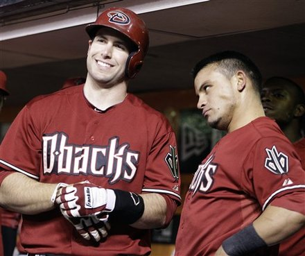 Gerardo Parra Gives Paul Goldschmidt the Stink Eye for Wearing Same Outfit (Caption Contest)