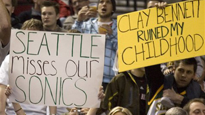 Oklahoma City Thunder's Finals Run Brings Back Harsh Memories for Seattle Fans
