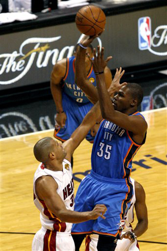 Shane Battier Shows Form Against Thunder That Made Him Miami Heat's Biggest Pickup