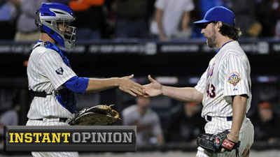 R.A. Dickey Just the Latest Bright Spot in Season That Was Supposed to Be Train Wreck for Mets