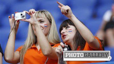 Netherlands' Beautiful Fans Leave Orange Crushes at Euro 2012 (Photos)