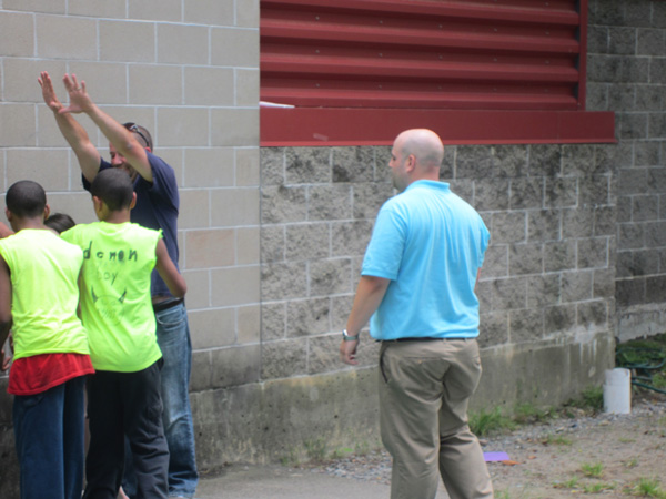 NESN Employees Spend Afternoon Volunteering at The Home for Little Wanderers (Photos)