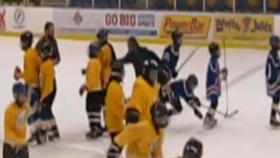 Canadian Youth Hockey Coach Under Investigation After Tripping Opposing Player in Handshake Line (Video)