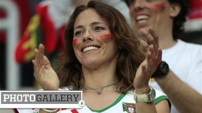 Portugal Indebted to Beautiful Fans for Run to Euro 2012 Semifinal (Photos)