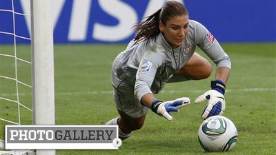 Hope Solo Comes Clean, Saves U.S. Women's Soccer Team's Olympic Hopes (Photos)