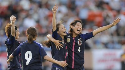 Japan Women's Soccer Team Stuck In Coach While Men's Squad Enjoys Business Class on Intercontinental Flight