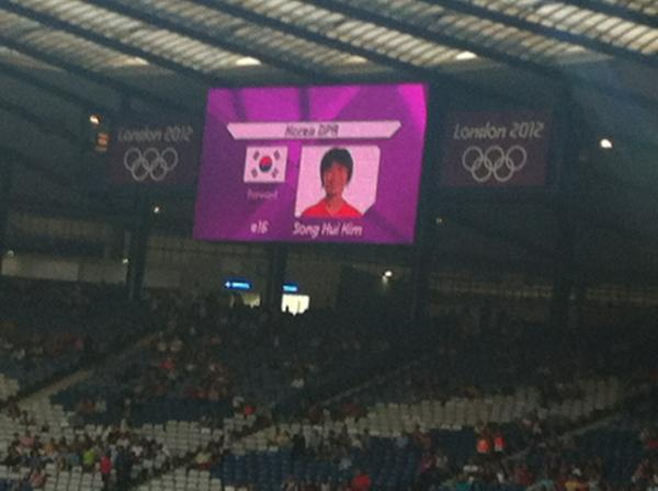 North Korean Women's Soccer Team Refuses to Start Olympics Game After South Korean Flag Shown (Photo)