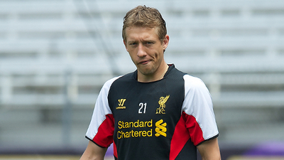 Brendan Rodgers' Support Helps Lucas Leiva's Recovery From Serious Knee Injury