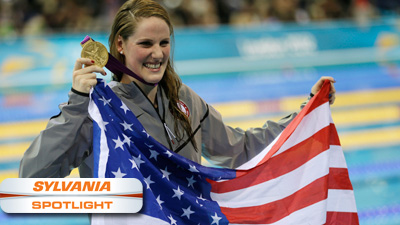 Missy Franklin Capturing a Lot More Than Just Olympic Gold as Heir to Michael Phelps' Throne