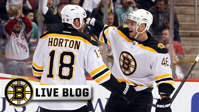 Bruins Live Blog: Stars Snap Boston's Win Streak at Seven Games, Handing B's 4-2 Loss in Dallas