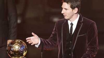 Lionel Messi Wins 2011 FIFA Ballon d'Or, Named World's Best Soccer Player