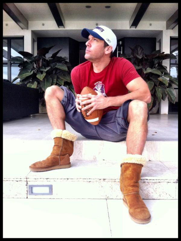 Imsa Live Stream >> Dane Cook Poses in UGG Boots to Support Tom Brady ...