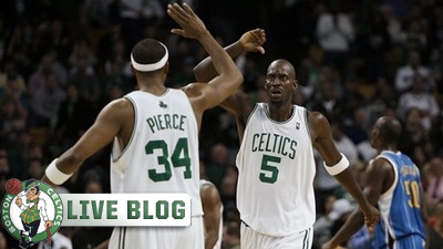 Celtics Live Blog: Paul Pierce Scores 28 Points As C's Beat Pacers 94-87 for Fourth Straight Win